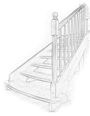 schody dębowe - zakład stolarski Misiniec