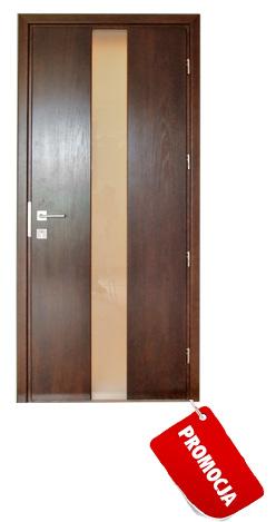 Drzwi dębowe ze szkłem - promocja